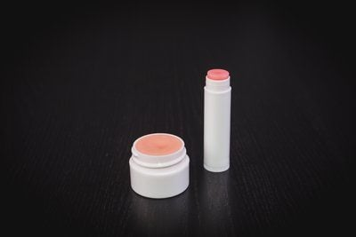 Homemade Lip Balm Containers