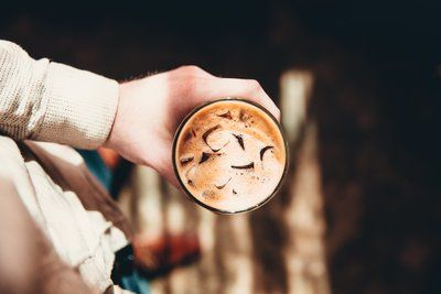 Iced Coffee From Above
