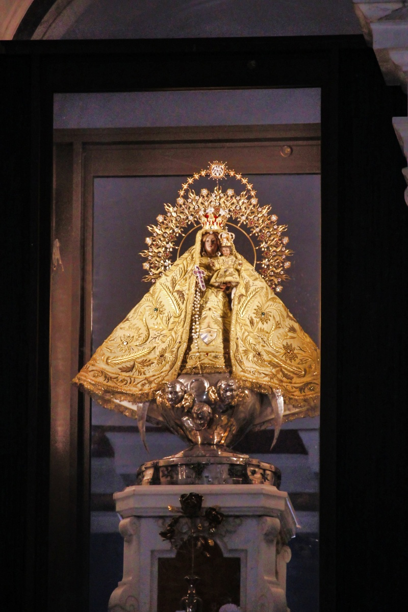 Image of the Virgin of Charity of Cobre