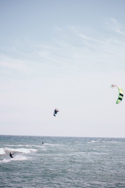 Kite Surfing Waves