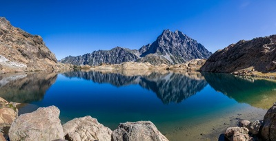 Lake in the Middle of Mountain
