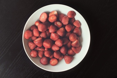 Large Bowl of Strawberries
