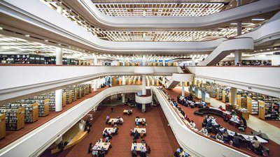Library Stunning Architecture
