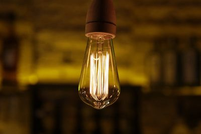 Light Bulb in Bar