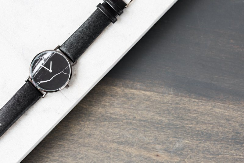 Marble Fashion Wristwatch