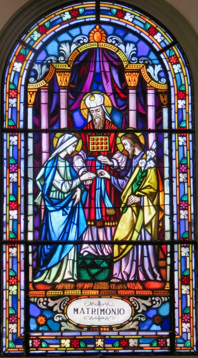 Marriage of the Virgin Mary with St. Joseph