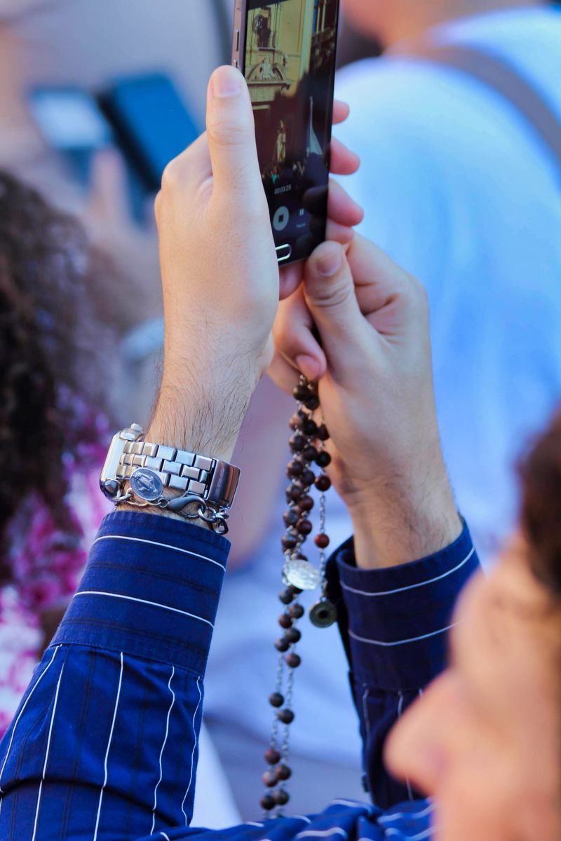 Medals, and rosaries