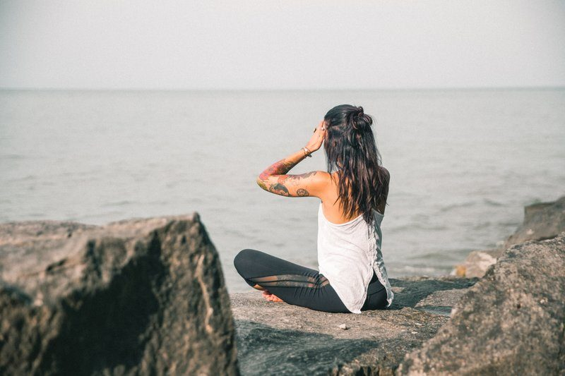 Meditation And Yoga In Nature