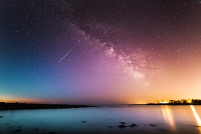 Milky Way Above Water