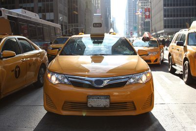 New York City Taxi Jaune
