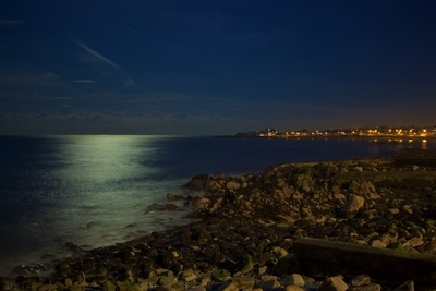 Nacht Himmel Sea View Lights