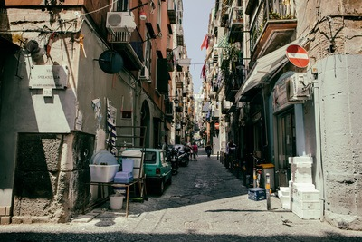 Old Naples, Italy