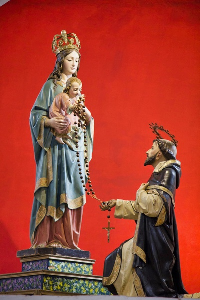 Our Lady of the Rosary and Saint Dominic