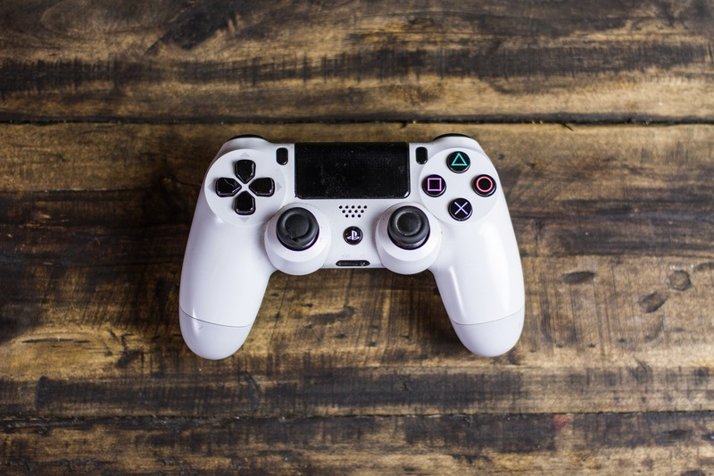PS4-Spiele-Controller