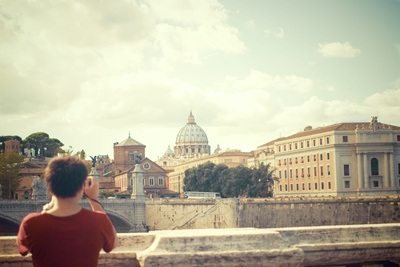 Photographer's View of Rome