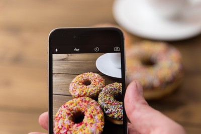 Photographing Donuts