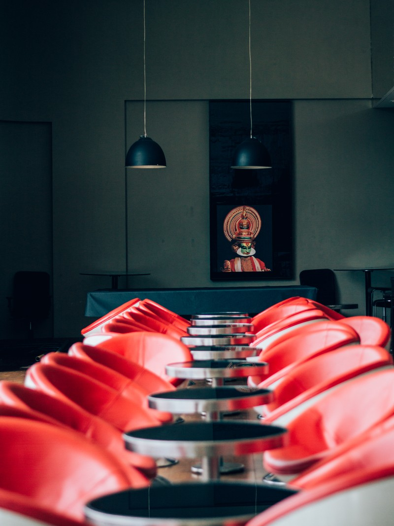 Photography of Tables with Chairs