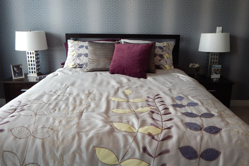 Pillows in Bedroom