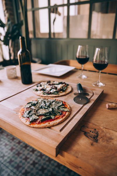 Pizza And Wine For Two