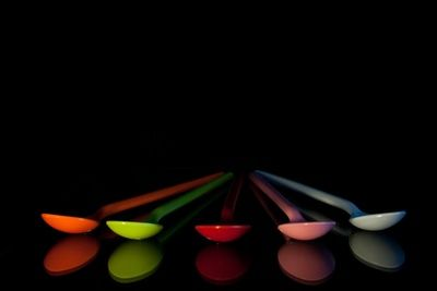 Plastic Colorful Spoons