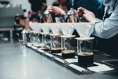 Pour Over Coffee Competition