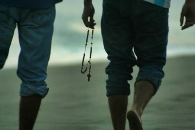 Praying the Rosary on the Seaside