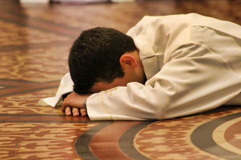 Prostrate at your feet