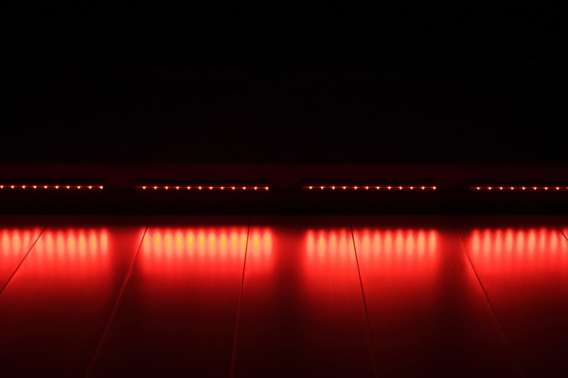 Red Abstract Lights