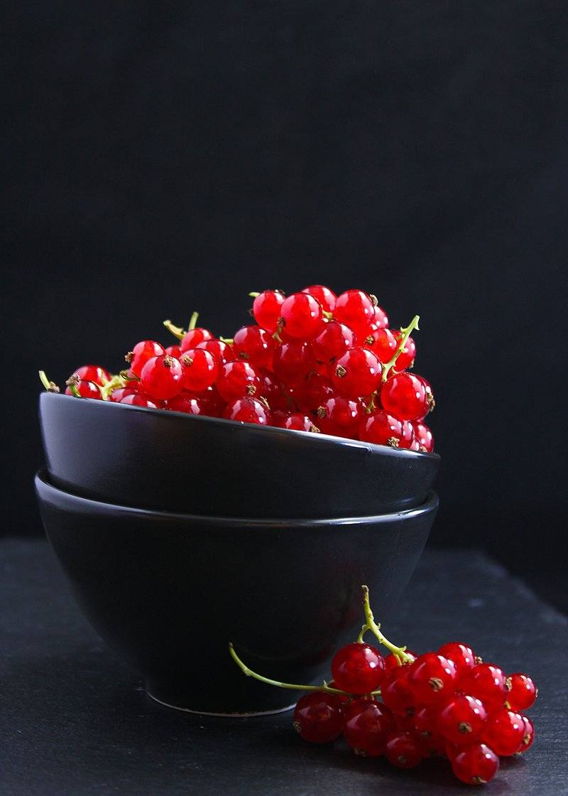Red Currants In Bowl