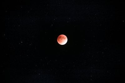 Red Moon And Stars