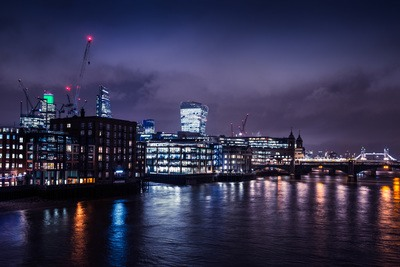 River Thames By Night