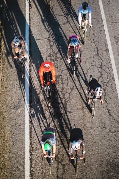 Road Race From Above