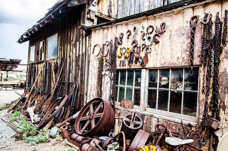 Rusty Tools And Machinery