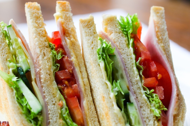 S&wich with Salad