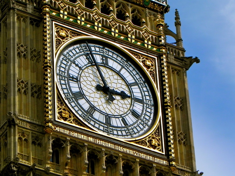 Shallow Focus of Big Ben
