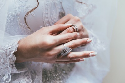 Silver-Colored Ring Photo
