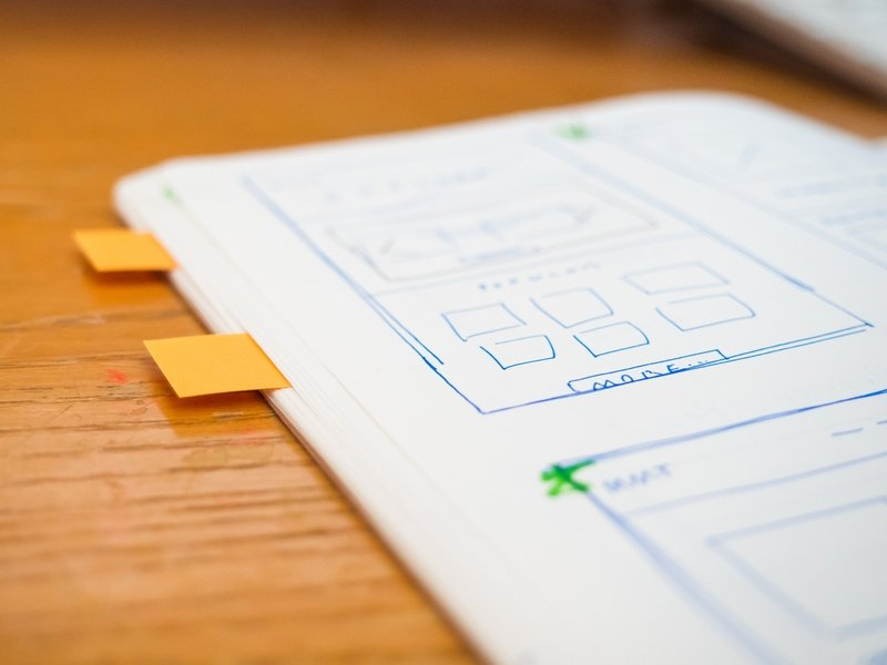 Sketch Wireframe Web Notes