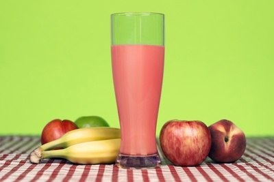Smoothie on Table