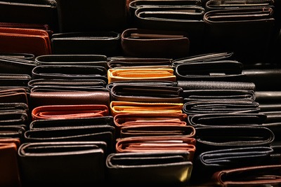 Stack of Purse Wallets