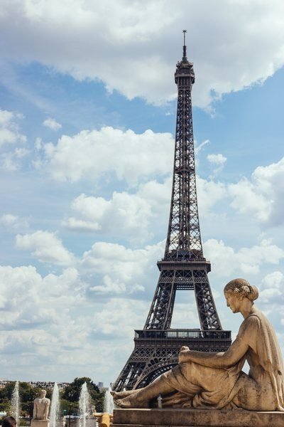 Statue By Eiffel Tower