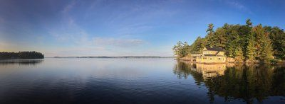 Still Lake In Cottage Country