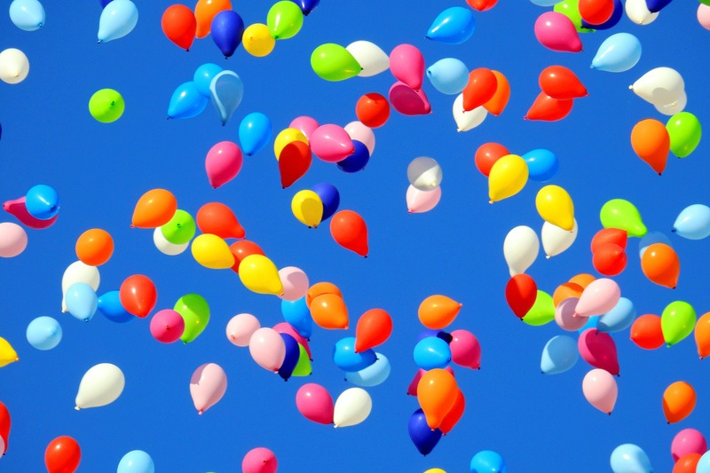 Summer Party Balloons