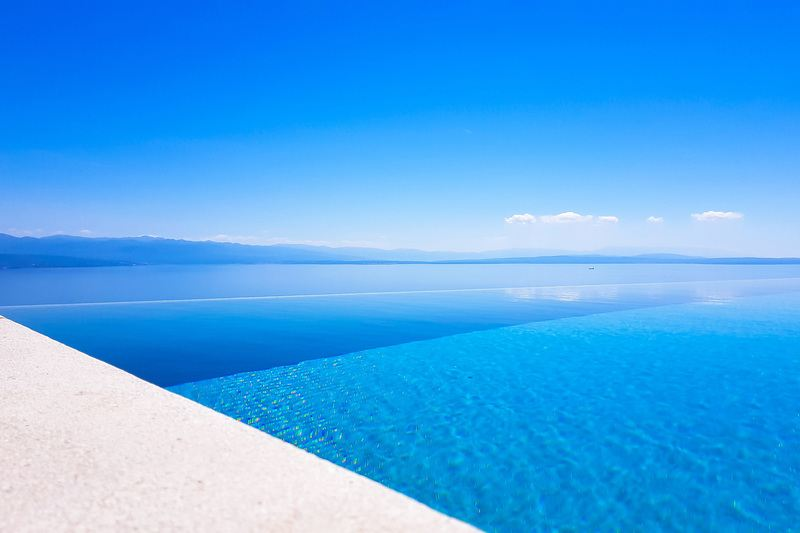 Endless Blue Water