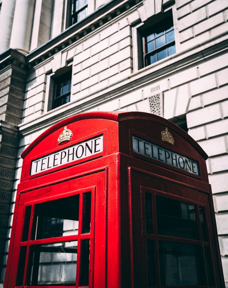 Telephone Booth In London England