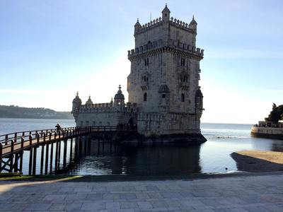 The Belém Tower in Lisbon