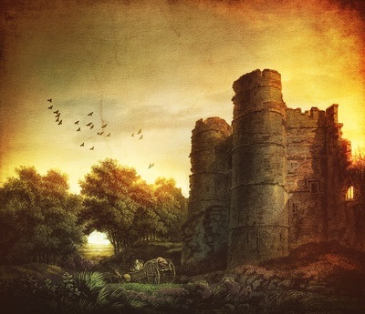 Das Donnington Castle in England