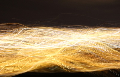 Time Lapsed Photography of Yellow Light