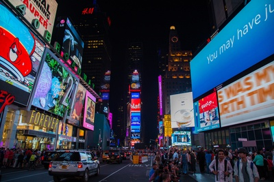 Time Square, New York at Night