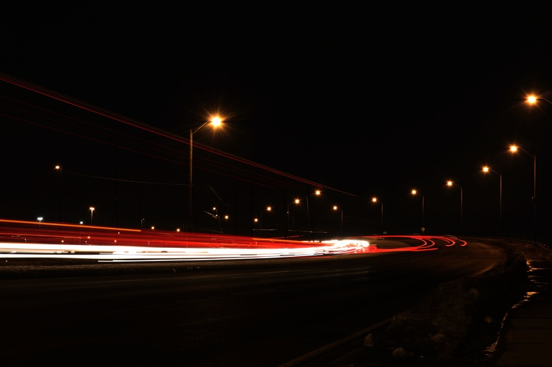 Timelapse Photography of Vehicles at Nighttime