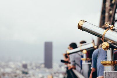 Tourist Telescopes City View